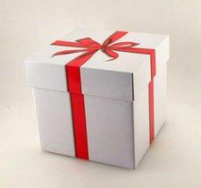Plåtburk - Presentpaket