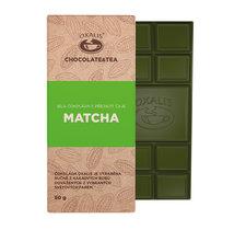 Vit choklad med matcha-te - 50g