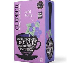 Clipper Infusion Örtte Wild Berry Eko