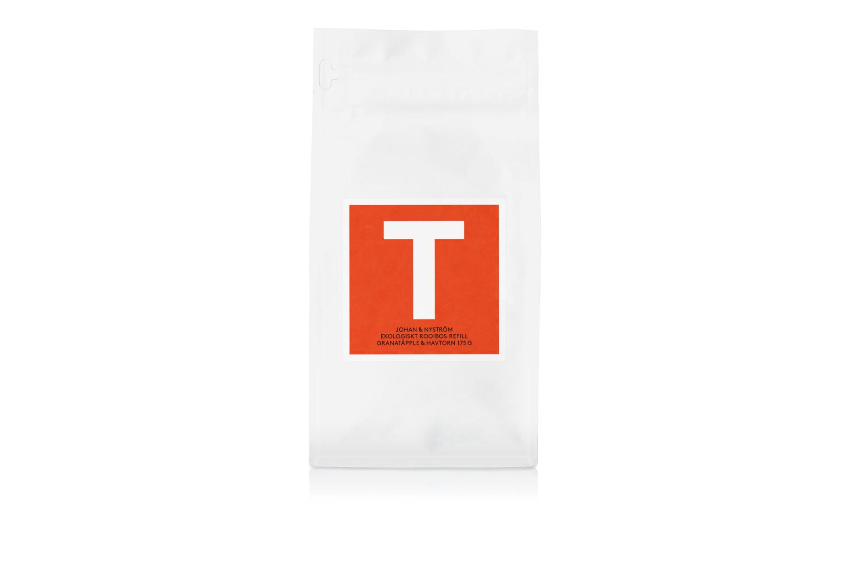 T-TE Granatäpple & Havtorn Refill - Rooibos