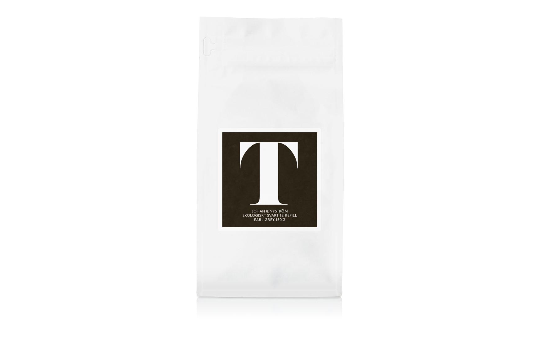 T-TE Earl Grey Refill - Svart te