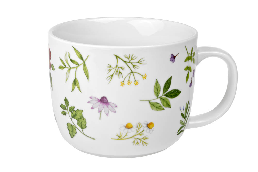 Stor Temugg 0,75l - Meadow Flowers